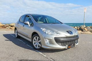 2009 Peugeot 308 T7 XSE Gold 4 Speed Sports Automatic Hatchback.