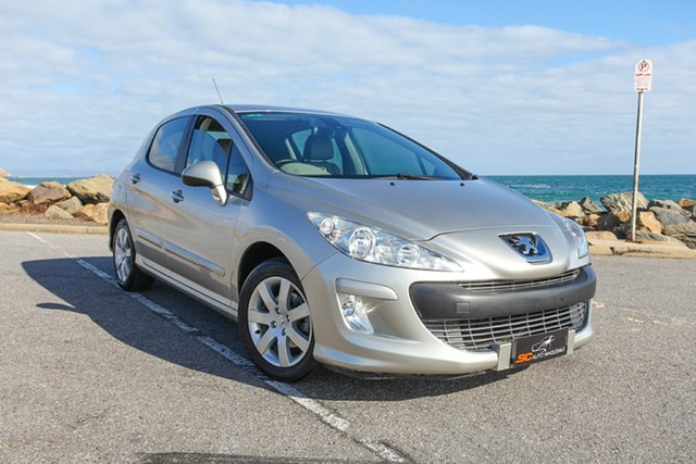 Used Peugeot 308 T7 XSE Lonsdale, 2009 Peugeot 308 T7 XSE Gold 4 Speed Sports Automatic Hatchback