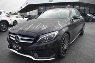 2017 Mercedes-Benz C-Class W205 807+057MY C250 d 9G-Tronic Black 9 Speed Sports Automatic Sedan.