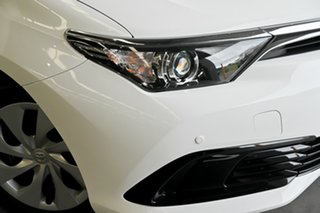 2017 Toyota Corolla ZRE182R Ascent S-CVT White 7 Speed Constant Variable Hatchback.