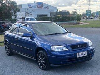 2002 Holden Astra TS CD Blue 4 Speed Automatic Sedan.
