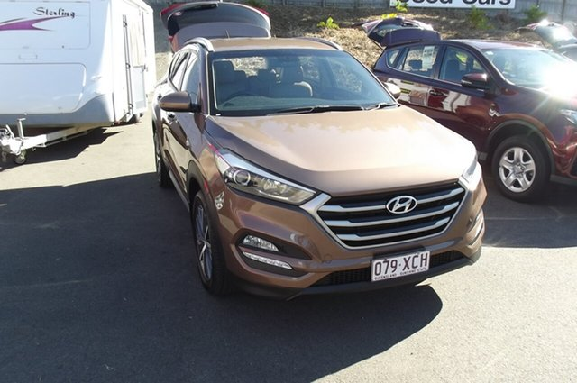 Used Hyundai Tucson TL MY17 Active X 2WD South Gladstone, 2016 Hyundai Tucson TL MY17 Active X 2WD Brown 6 Speed Sports Automatic Wagon