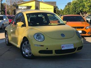 2006 Volkswagen Beetle 9C MY2007 TDI Coupe Yellow 5 Speed Manual Liftback.