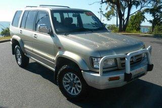 2002 Holden Jackaroo U8 MY02 Nullabor Silver 4 Speed Automatic Wagon.