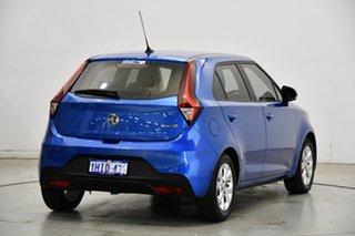 2019 MG MG3 SZP1 MY18 Core Regal Blue 4 Speed Automatic Hatchback