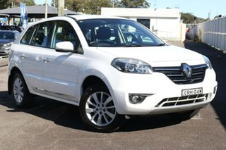 2013 Renault Koleos H45 Phase II Expression White 1 Speed Constant Variable Wagon.