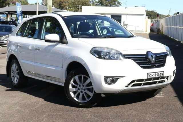 Used Renault Koleos H45 Phase II Expression North Gosford, 2013 Renault Koleos H45 Phase II Expression White 1 Speed Constant Variable Wagon