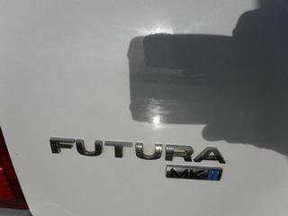 2006 Ford Falcon BF Mk II Futura White 4 Speed Sports Automatic Wagon