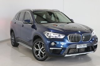 2018 BMW X1 F48 sDrive18d Steptronic Blue 8 Speed Sports Automatic Wagon.