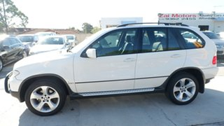 2006 BMW X5 E53 MY05 d Steptronic White 6 Speed Sports Automatic Wagon