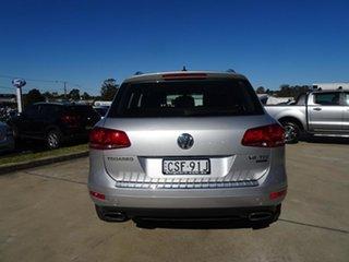 2014 Volkswagen Touareg 7P MY14 150TDI Tiptronic 4MOTION Silver 8 Speed Automatic Wagon