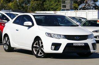 2012 Kia Cerato TD MY12 Koup SLS White 6 Speed Sports Automatic Coupe.
