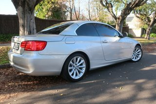 2010 BMW 3 Series E93 MY10 320d Steptronic Silver 6 Speed Sports Automatic Convertible.
