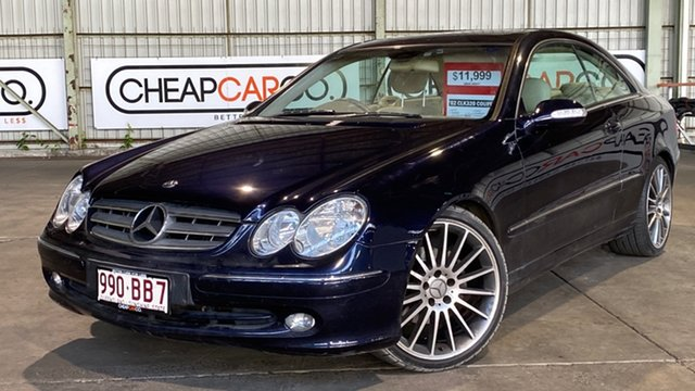 Used Mercedes-Benz CLK-Class C208 CLK320 Avantgarde Rocklea, 2002 Mercedes-Benz CLK-Class C208 CLK320 Avantgarde Blue 5 Speed Automatic Coupe