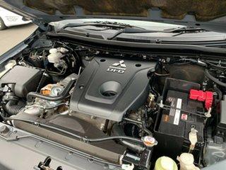 2016 Mitsubishi Triton MQ MY17 GLS Double Cab Grey 5 Speed Sports Automatic Utility