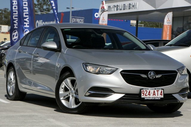 Used Holden Commodore ZB MY18 RS Liftback Aspley, 2018 Holden Commodore ZB MY18 RS Liftback Silver 9 Speed Sports Automatic Liftback