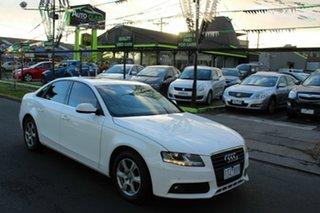 2011 Audi A4 B8 8K MY12 Multitronic White 8 Speed Constant Variable Sedan
