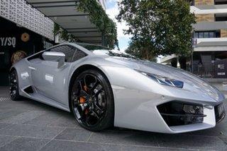 2017 Lamborghini Huracan 724 LP580-2 Grigio Nimbus 7 Speed Sports Automatic Dual Clutch Coupe.