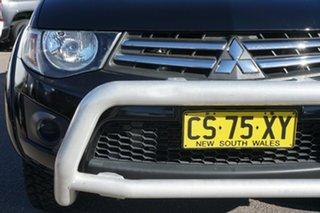 2014 Mitsubishi Triton MN MY15 GLX Double Cab Black 5 Speed Manual Utility