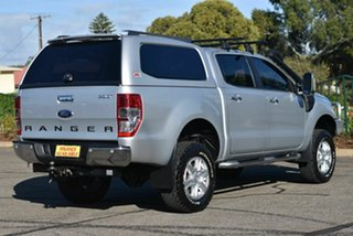 2014 Ford Ranger PX XLT Double Cab Silver 6 Speed Sports Automatic Utility