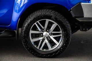 2017 Toyota Hilux GUN126R SR5 (4x4) Nebula Blue 6 Speed Automatic Dual Cab Utility