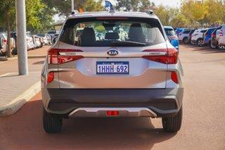 2021 Kia Seltos SP2 S Grey Constant Variable SUV.