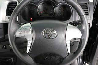 2013 Toyota Hilux KUN26R MY12 SR5 (4x4) Black 5 Speed Manual Dual Cab Pick-up