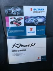 2013 Suzuki Kizashi FR MY13 Prestige White 6 Speed Constant Variable Sedan