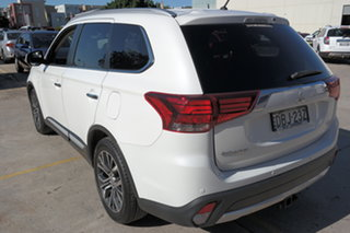 2015 Mitsubishi Outlander ZK MY16 Exceed 4WD White 6 Speed Sports Automatic Wagon