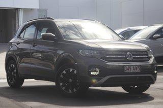 2020 Volkswagen T-Cross C1 MY21 85TSI DSG FWD Life Limestone Grey 7 Speed.
