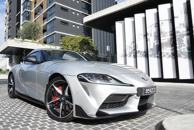 Used Toyota Supra GR GTS East Brisbane, 2019 Toyota Supra A90 GR GTS Suzuka Silver 8 Speed Sports Automatic Coupe