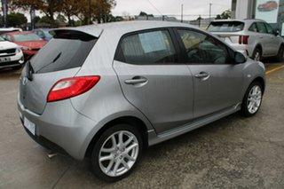 2010 Mazda 2 DE10Y1 Genki Silver 4 Speed Automatic Hatchback