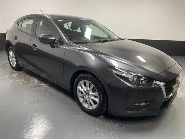 Used Mazda 3 BN5476 Neo SKYACTIV-MT Sport Raymond Terrace, 2018 Mazda 3 BN5476 Neo SKYACTIV-MT Sport Grey 6 Speed Manual Hatchback