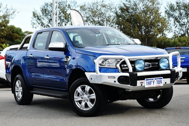 Used Ford Ranger PX MkIII 2019.00MY XLT Clarkson, 2018 Ford Ranger PX MkIII 2019.00MY XLT Blue 10 Speed Sports Automatic Utility