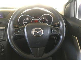 2012 Mazda BT-50 UP0YF1 XT 4x2 Hi-Rider White 6 Speed Manual Utility
