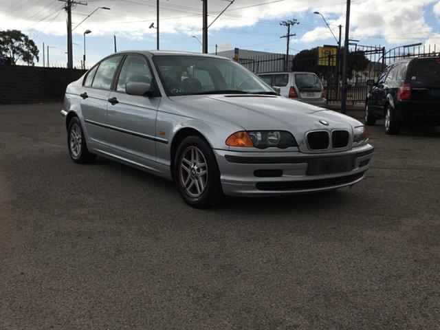 Used BMW 3 Series E46 318i Steptronic Blair Athol, 2001 BMW 3 Series E46 318i Steptronic 4 Speed Sports Automatic Sedan