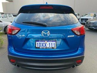 2012 Mazda CX-5 KE1071 Maxx SKYACTIV-Drive Blue 6 Speed Sports Automatic Wagon.