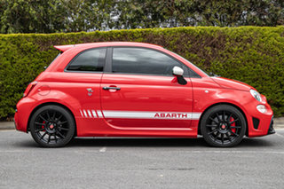 2018 Abarth 595 Series 4 Competizione Red 5 Speed Manual Hatchback.