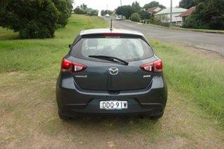 2015 Mazda 2 DJ2HAA Maxx SKYACTIV-Drive Grey 6 Speed Sports Automatic Hatchback
