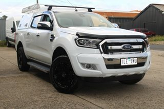 2017 Ford Ranger PX MkII MY17 XLT 3.2 (4x4) White 6 Speed Manual Dual Cab Utility.