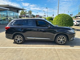 2017 Mitsubishi Outlander ZK MY17 LS 2WD Black 6 Speed Constant Variable Wagon.