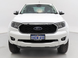 2020 Ford Ranger PX MkIII MY21.25 XLT 3.2 (4x4) White 6 Speed Automatic Double Cab Chassis.