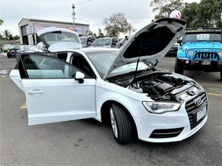2016 Audi A3 8V MY16 Attraction Sportback S Tronic White 7 Speed Sports Automatic Dual Clutch