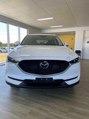 2021 Mazda CX-5 K Maxx Sport White 6 Speed Automatic Wagon.