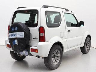 2015 Suzuki Jimny MY15 White 4 Speed Automatic 4x4 Wagon