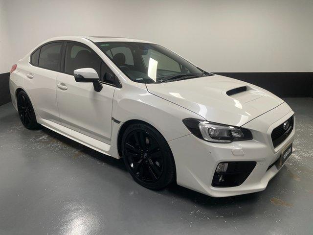 Used Subaru WRX V1 MY16 Premium Lineartronic AWD Hamilton, 2016 Subaru WRX V1 MY16 Premium Lineartronic AWD White 8 Speed Constant Variable Sedan
