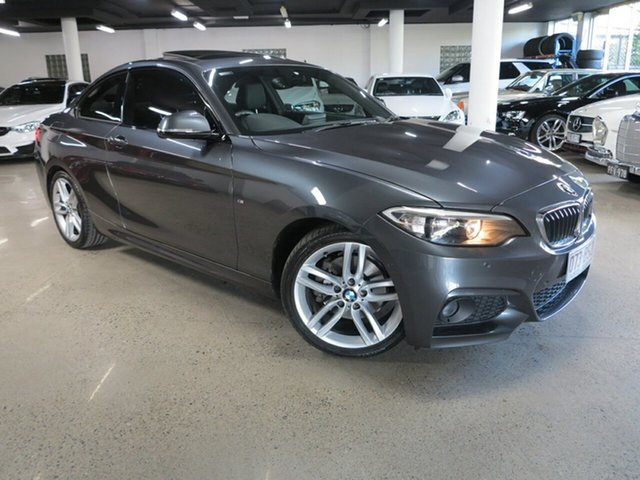 Used BMW 2 Series F22 220d M Sport Albion, 2015 BMW 2 Series F22 220d M Sport Grey 8 Speed Sports Automatic Coupe