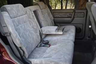 2001 Holden Jackaroo U8 MY01 SE Maroon 5 Speed Manual Wagon