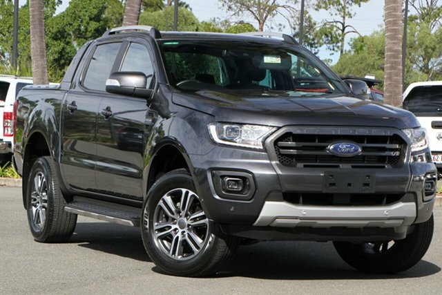 Used Ford Ranger PX MkIII 2020.25MY Wildtrak North Lakes, 2020 Ford Ranger PX MkIII 2020.25MY Wildtrak Grey 10 Speed Sports Automatic Double Cab Pick Up