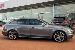 2013 Audi A4 B8 8K MY13 Avant S Tronic Quattro Grey 7 Speed Sports Automatic Dual Clutch Wagon.